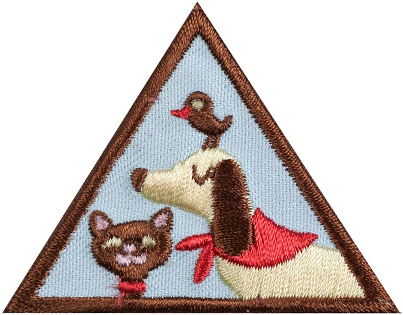 Brownie Pets Badge